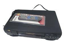 New listing Jvc Hr-J643U Pro-Cision 19u Head Hi-Fi Vcr/Vhs Player/Recorder Remote
