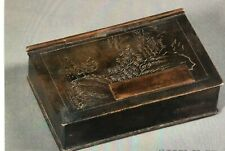 Seal (Chop) Box, Qing Dynasty, in Shape of a Book 19th Century China (metal)