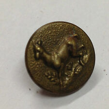 BOUTON CHASSE VÉNERIE Chevreuil biche 16 mm vers 1900