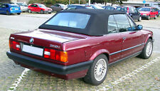87-93 BMW 3 Series E30 Convertible Mohair Soft Top Hood Roof Fitted *Mobile*
