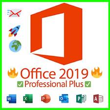 Microsoft ® Office 2019 Professional Pro Plus 🌕 Windows 32/64 🌕 GENUINE KEY