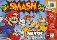 Super Smash Bros. - Nintendo 64 N64 - Cart Only - New Condition - Free Shipping