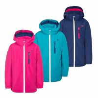 Trespass Heddar Girls Boys Waterproof Jacket Raincoat For Kids