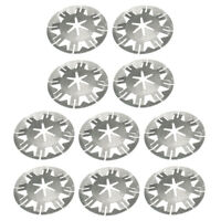 10x Exhaust Heat Shield Clip Nut Washers for  TRANSPORTER T4 T5 GOLF LUPO P Y6F5