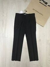 New BURBERRY Boys Trousers RRP £125 8 years Grey School Trousers Classic Bottoms