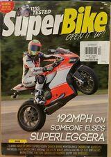 Super Bike UK 192MPH on Superleggera 125S Tested December 2014 FREE SHIPPING