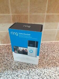 Ring Video Doorbell (2nd Gen) - Satin Nickel