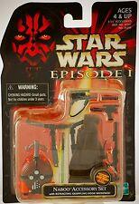 HASBORO 1998 Star Wars Episode 1 Naboo Accessory Set