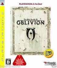 Used PS3  The Elder Scrolls IV Oblivion SONY PLAYSTATION 3 JAPAN JAPANESE IMPORT