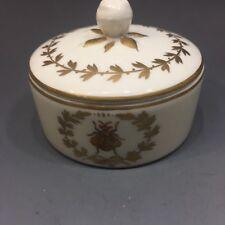 Limoges France Porcelain Covered Box