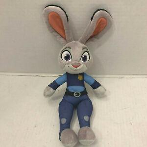 "Disney Zootopia Officer Judy Hopps Talking Plush Doll Tomy L70221 TV Movie 14"""