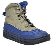 Nike Woodside 2 High ACG Kids Preschool Boots Boys Blue Khaki Shoes 524873-403