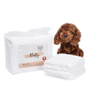 Dog Diaper Liners Booster Pads for Male and Female Dogs, Disposable Doggie Diape