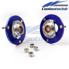 Adjustable Camber Plates For BMW E46 316 318 320 323 328 330 M3 Top Mount Blue