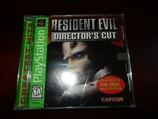 Resident Evil Director's Cut (Sony PlayStation 1, 1998) BRAND NEW, SEALED! #G215