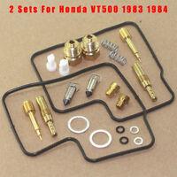 6 Sigma Carb Jet Kit fits 1983-85 Honda VT500FT VT500 VT 500 V-Twin Ascot Custom Performance Stage 1-3 Carburetor Jetting