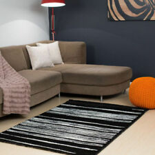 Unbranded Striped Polyester Shag Rugs