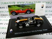 MAS44S voiture 1/43 LEO models MASERATI TIPO A6GCS/53 24 heures du Mans 1954