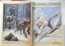 LA DOMENICA DEL CORRIERE 14 gennaio 1962 Mike Bongiorno Caso Faj Sardegna Khan