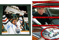 "WAYNE GRETZKY signed ""EDMONTON OILERS"" 8X10 Photo EXACT PROOF - Stanley Cup COA"