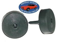 1955-1967 GM NOSR Factory Correct Rubber Trunk Deck Lid Bumpers Bump Stops BF