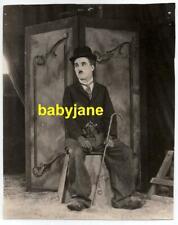 CHARLIE CHAPLIN ORIGINAL 7X9 PHOTO 1928 THE CIRCUS DOUBLE WEIGHT