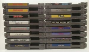 Lot of Nintendo NES Games with Manuals (Nintendo Entertainment System) You Pick