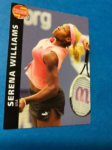 SERENA WILLIAMS STADION WORLD STARS 2002 #567 RC RARE SP