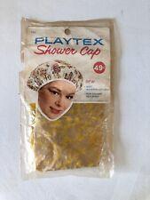 Vintage Original Unopened 1965 Woman's Playtex Waterproof Vinyl Shower Cap Bath