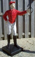 """44"""" Cavalier Boy (Jockey) Concrete Statue **Pick Up Only From Factory**"""