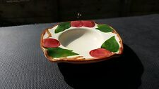 """Franciscan APPLE (MADE IN USA) Square Ashtray 4 3/4"""" X 4 3/4"""" X 1"""" """"Flying F"""""""