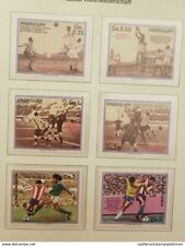 O) 1986 PARAGUAY, WORLD CUP SOCCER CHAMPIONSHIPS - MEXICO CITY -MATCH SCENES - U