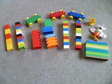 Lego Duplo Bundle, Bricks Including Wheel Bases & Disney Plane El Chupacabra