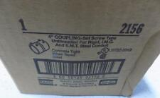 """HUBBELL RACO 4"""" SET SCREW COUPLING 2156"""