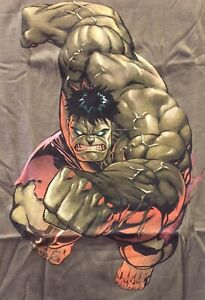 Incredible Hulk T-Shirt M Medium Gray Grey New