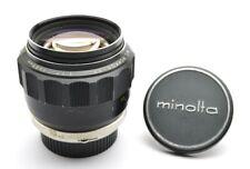 Minolta MC Rokkor-PF 1,7 / 85 mm Tele Lens Portrait Objektiv MD Mount + Cap k20