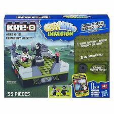 KRE-O CITYVILLE invasione Cimitero Heist giocattolo età 6 + SONIC Motion SPOOKY SUONI