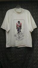 """Hennessy x Pyer Moss Marshall """"Mayor"""" Taylor Cyclist Size M White Shirt New NWT"""
