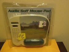 Audio Golf Mouse Pad New Package Is Worn