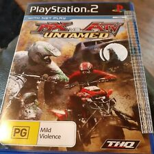 Playstation 2 MX vs ATV Untamed  PG Game Never played New THQ 2008 PS2 As Bought
