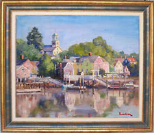 PORTSMOUTH~NEW HAMPSHIRE~LISTED ARTIST~ORIGINAL OIL PAINTING BY MARC FORESTIER