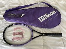 "Wilson Hammer 5.2 Classic 95 Sq.In. Tennis Racquet 4-3/8"" grip w/Cover"