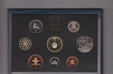 More details for boxed royal mint 1994 uk standard proof set of 8 coins with certificate