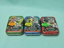 Lego® Ninjago™ Serie 5 Trading Card Game alle 3 Mini Tin Boxen LE13 LE14 LE15