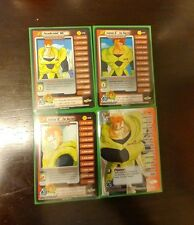 Dragon Ball Z Android 16 Personality Set from Cell Saga DBZ CCG Score