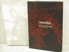 .hack//G.U. TRILOGY Archives 01 w/Serial No. Art Works SEIICHIRO HOSOKAWA Book *