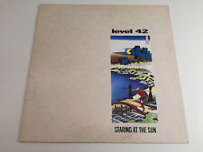 Level 42 ‎- Staring At The Sun / Genere: Pop, Electronic / Lp