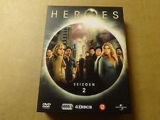 4-DISC DVD BOX / HEROES: SEASON 2