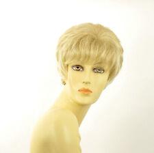 Perruque femme courte blond doré méché blond très clair  BRANDY 24BT613