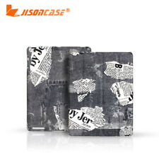Jisoncase Newest Genuine Premier Cow Leather Case Cover For Apple iPad 3 3rd !